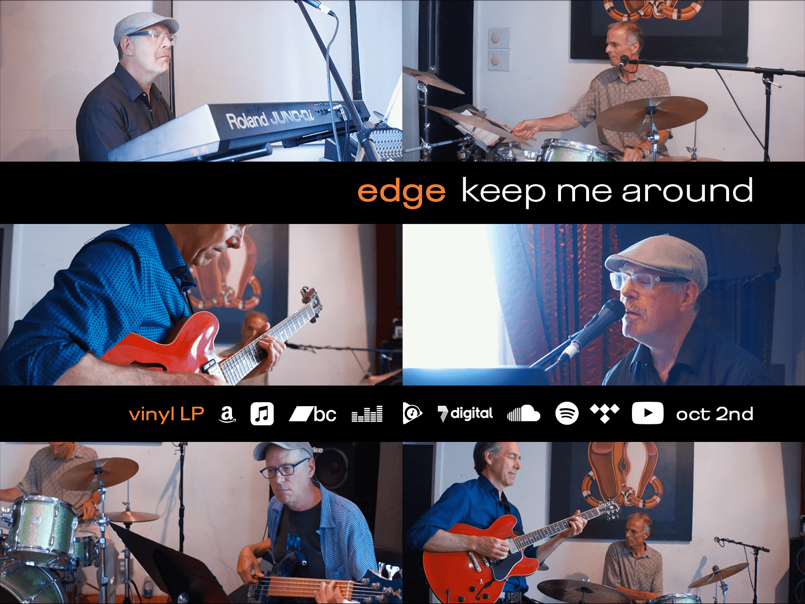 Edge Keep Me Around Launch Banner
